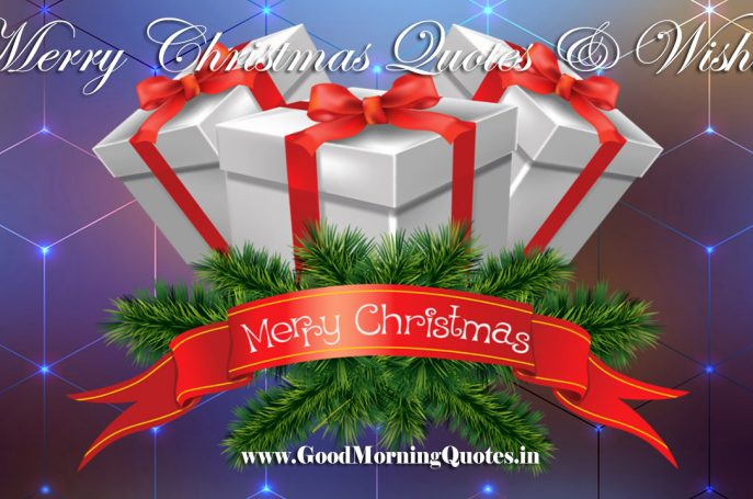 Share Top Best Merry Christmas Quotes and Wishes on Whatsapp Facebook Instagram Tiktok Helo App GoodMorningQuotes-In
